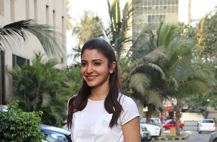 Anushka Sharma with Makeup